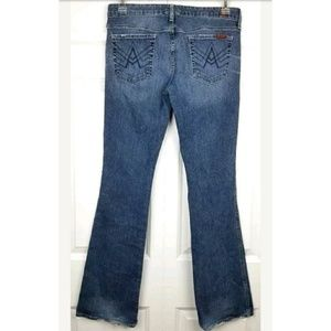7 For All Mankind A Pocket Bootcut Jeans 30 x 33